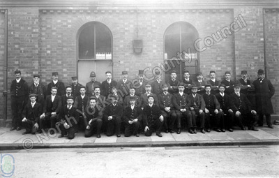Harrogate, North Eastern Railway Company staff
